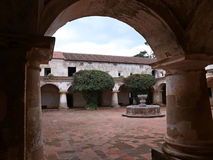 Church and Convent of las Capuchinas in Antigua, Guatemala Stock Photo