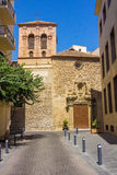 CHURCH AND CONVENT OF PURE Declared as Royalty Free Stock Photography