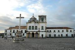 Church and convent of San Francisco. São Cristovão, Aracaju, Brazil, July 22, 2015 Royalty Free Stock Photography
