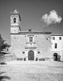 Church and Convent of San Francisco in Vélez-Blanco Stock Images