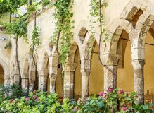 Church and Convent of St. Francis, Sorrento. Italy Stock Photos