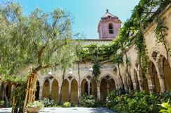 Church and Convent of St. Francis, Sorrento. Italy Stock Images