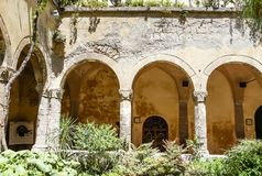 Church and Convent of St. Francis, Sorrento. Italy Royalty Free Stock Photos