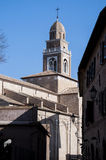 Church and Convent of St. Paterniano in Fano Royalty Free Stock Photography