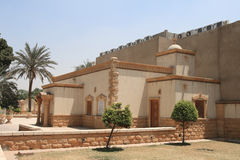 The church on the Coptic cemetery in Old Cairo Stock Photography