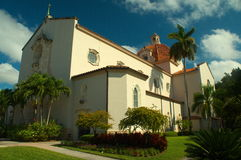 Church in Coral Gables Florida Royalty Free Stock Image