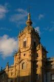 church corazon de玛丽亚・ San Sebastian西班牙 免版税库存照片