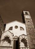 Church, Corenno Plinio - monochrome Royalty Free Stock Photography