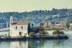 Church on Corfu Royalty Free Stock Images