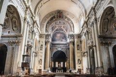 St. Peter's Metropolitan Cathedral, Bologna. Cattedrale Metropolitana di San Pietro in Bologna, Italy Stock Photos