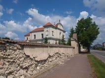 Church of Corpus Christi, Józefów nad Wisłą, Poland Royalty Free Stock Photo