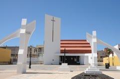 Church in Corralejo, Fuerteventura, Spain Stock Images
