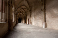 Church Corridor Royalty Free Stock Photo