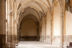 Church Corridor Royalty Free Stock Photography