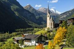 Church in Cortina, Italy Stock Photography