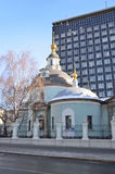 The Church of Cosma and Damian on Maroseyka street, Moscow Royalty Free Stock Images