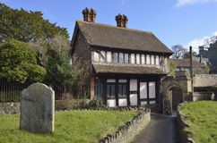 Church Cottage, Dunster Royalty Free Stock Images