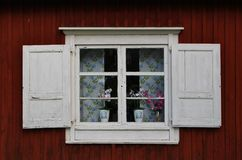 Church cottages in Gammelstad Church Town Royalty Free Stock Photo