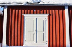 Church cottages in Gammelstad Church Town Stock Photography