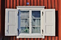 Church cottages in Gammelstad Church Town Royalty Free Stock Photography