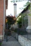 Church courtyard Stock Image