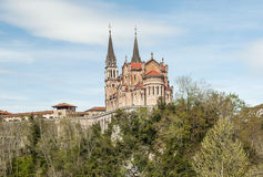 Church of Covadonga Royalty Free Stock Photography
