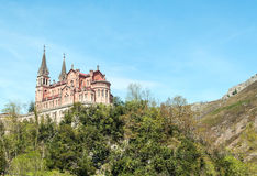 Church of Covadonga Royalty Free Stock Photos