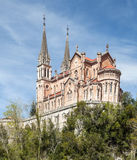 Church of Covadonga Royalty Free Stock Images