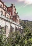 Church of Covadonga Stock Photos
