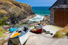 Church Cove The Lizard Cornwall England Royalty Free Stock Image