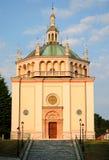 Church, Crespi dAdda Royalty Free Stock Photography