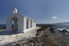Church in Crete island. Royalty Free Stock Photo