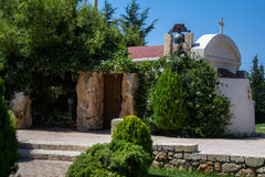 The Church in Crete. Stock Images