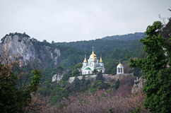Church in Crimea Royalty Free Stock Image
