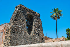 The Church of Cristo al Monte in Paterno. Sicily Royalty Free Stock Image