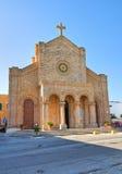 Church of Cristo Re. Santa Maria di Leuca. Puglia. Italy. Church of Cristo Re of Santa Maria di Leuca. Puglia. Italy Royalty Free Stock Photos