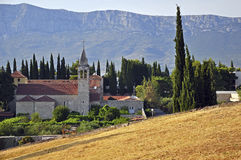 Church in Croatia Stock Image