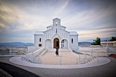 Church of Croatian Martyrs in Udbina Royalty Free Stock Photography
