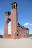 Church of Cross. Place to the Russian city Kaliningrad Stock Photography