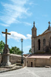Church, Cross and Blue Sky Royalty Free Stock Photo