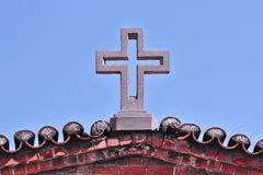 Church cross Royalty Free Stock Photography