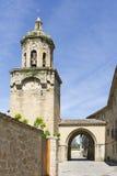Church of the Crucifix. Puente la Reina, Navarra. Spain. Stock Photography