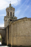 Church of the Crucifix. Puente la Reina, Navarra. Spain. Royalty Free Stock Photo
