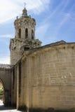 Church of the Crucifix. Puente la Reina, Navarra. Spain. Royalty Free Stock Photo