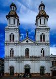 Church in Cuenca (Ecuador) Royalty Free Stock Image