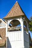 Church Cupola. A bell tower and cupola atop a small church in Southern California Royalty Free Stock Images
