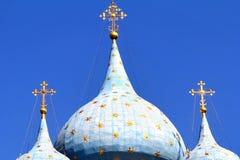 Church cupolas Stock Photo