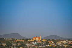 Church  Curacao Views Royalty Free Stock Photo