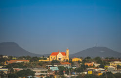 Church  Curacao Views Stock Photography
