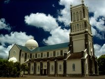 Church in Curepipe, Mauritius Royalty Free Stock Images